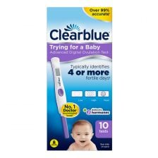 Clearblue Digital Ovulation Test with Dual Hormone Indicator 10
