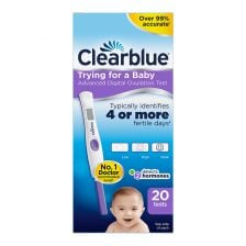 Clearblue Digital Ovulation Test with Dual Hormone Indicator 20