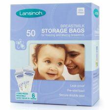Lansinoh Breastmilk Storage Bags 50pk