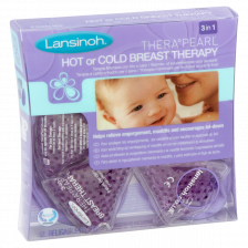 Lansinoh Therapearl 3 in 1 Hot & Cold Breast Therapy 2pk