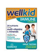 Vitabiotics Wellkid Immune Tablets - 30 Pack