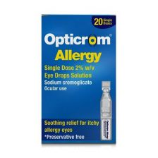 Opticrom Allergy Single Dose Vials 20