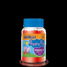 Vitabiotics Wellkid Peppa Pig Vitamin D Pastilles - 30 Pack