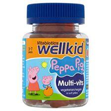 Vitabiotics Wellkid Peppa Pig Multivit Pastilles - 30 Pack