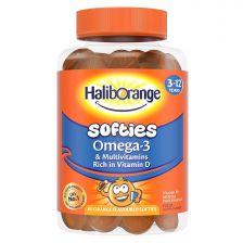 Haliborange Softies Omega-3 Orange - 60 Pack