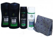 Lynx Africa Box Set with Socks