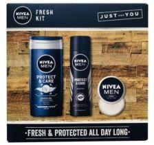 Nivea Men Fresh Kit Gift Set 3pc