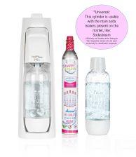 Happy Frizz Mio Sparkling Water Maker(+gas&bottle)