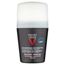 Vichy Homme Sensitive Roll-On Deodorant 50ml