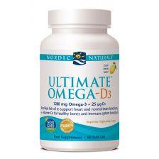 Nordic Naturals Ultimate Omega D3  - 60 Pack
