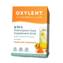 Oxylent 5 in 1 Multivitamin Drink Sparkling Mandarin - 7 Days