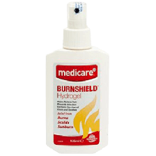 MEDICARE BURN GEL 125ML SPRAY