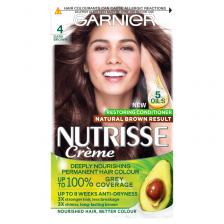 Garnier Nutrisse 4 Dark Brown Permanent Hair Dye