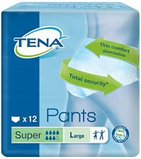 Tena Unisex Incontinance Pants Super Large - 12 Pack