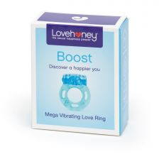 Lovehoney Boost Mega Vibrating Love Ring Blue