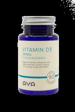 Aya Vitamin D3 1000iu-90