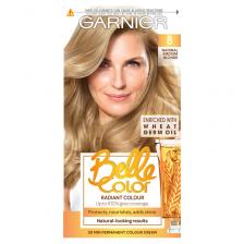 Garnier Belle Color 8 Natural Medium Blonde Permanent Hair Dye
