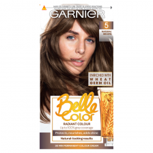 Garnier Belle Color 5 Natural Brown Permanent Hair Dye