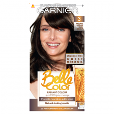 Garnier Belle Color 3 Dark Brown Permanent Hair Dye
