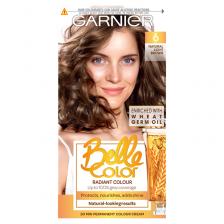 Garnier Belle Color 6 Natural Light Brown Permanent Hair Dye