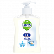 Dettol Hand Wash With E45 Chamomile - 250ml