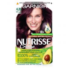 Garnier Nutrisse 4.26 Deep Burgundy Red Permanent Hair Dye