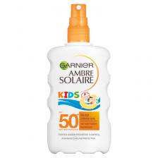 Garnier Ambre Solaire Kids Water Resistant Sun Cream Spray SPF50+ 200ml