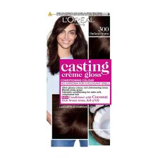 L'Oreal Casting Creme Gloss 300 Darkest Brown