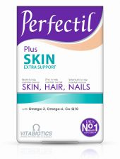 Vitabiotics Perfectil Plus Skin Extra Support Tablets - 28 Tablets Plus 28 Capsules