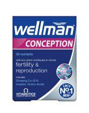 Vitabiotics Wellman Conception Tablets - 30 Tablets