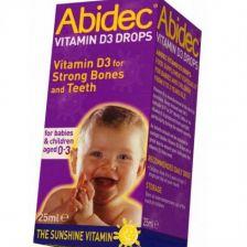 Abidec Vitamin D3 Drops 25Ml
