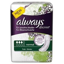 Always Discreet Pads Normal Small (12S)