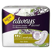 Always Discreet Small Pads Sp20S