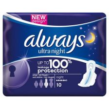 Always Ultra Night (10 Pack)