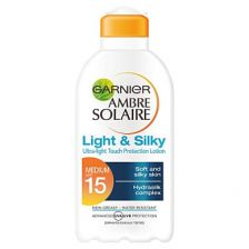 Ambre Solaire Milk F15 Light And Silky