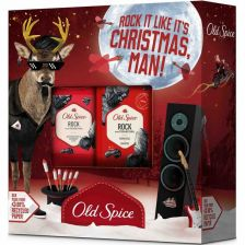 Old Spice Rock Reindeer Deodorant & Shower Gel