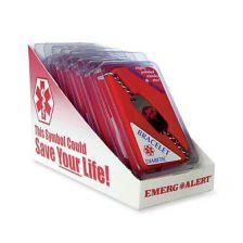 Apothecary Medical Id Bracelet Heart