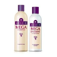Aussie Mega Instant Shampoo 300ML