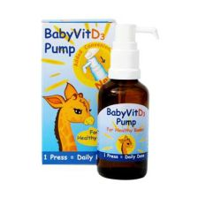 BabyVit D3 Vitamin D Drops Pump 28ml
