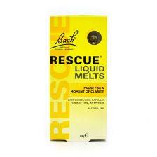 Bach Rescue Remedy Liquid Melts Caps - 28 Capsules