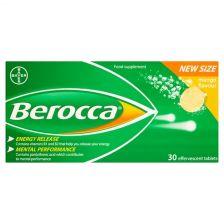 Berocca Effervescent Mango - 30 Pack