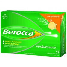 Berocca Effervescent Orange 45