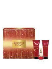Beyonce Heat 30ml - Eau De Toilette, Shower Gel & Body Lotion Gift Set