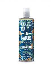 Faith In Nature Body Wash Blue Cedar