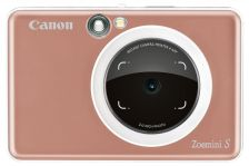 Canon Zoemini S Instant Camera Printer - Rose Gold