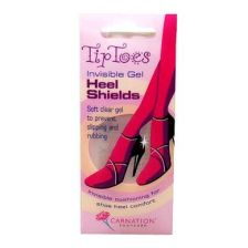 Carnation Footcare Tip Toes Gel Heel Shields