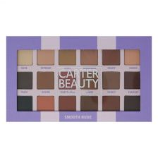 Carter Beauty 18 Shade Eye Palette - Smooth Nude