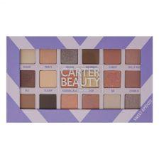 Carter Beauty 18 Shade Eye Palette - Sweet Apricot