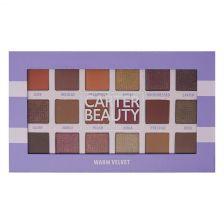 Carter Beauty 18 Shade Eye Palette - Warm Velvet