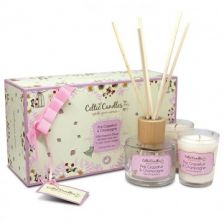 Celtic Candles Pink Grapefruit Set